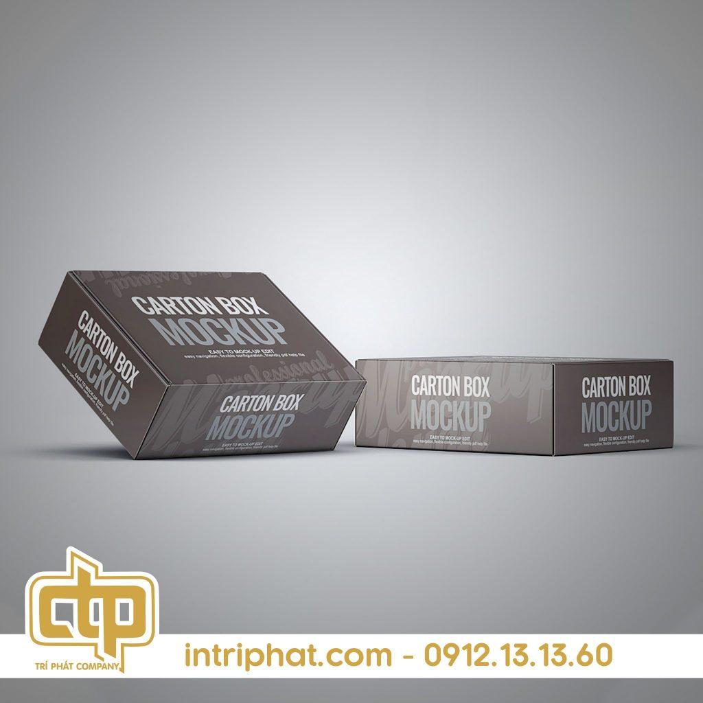 giấy in kraft hộp carton