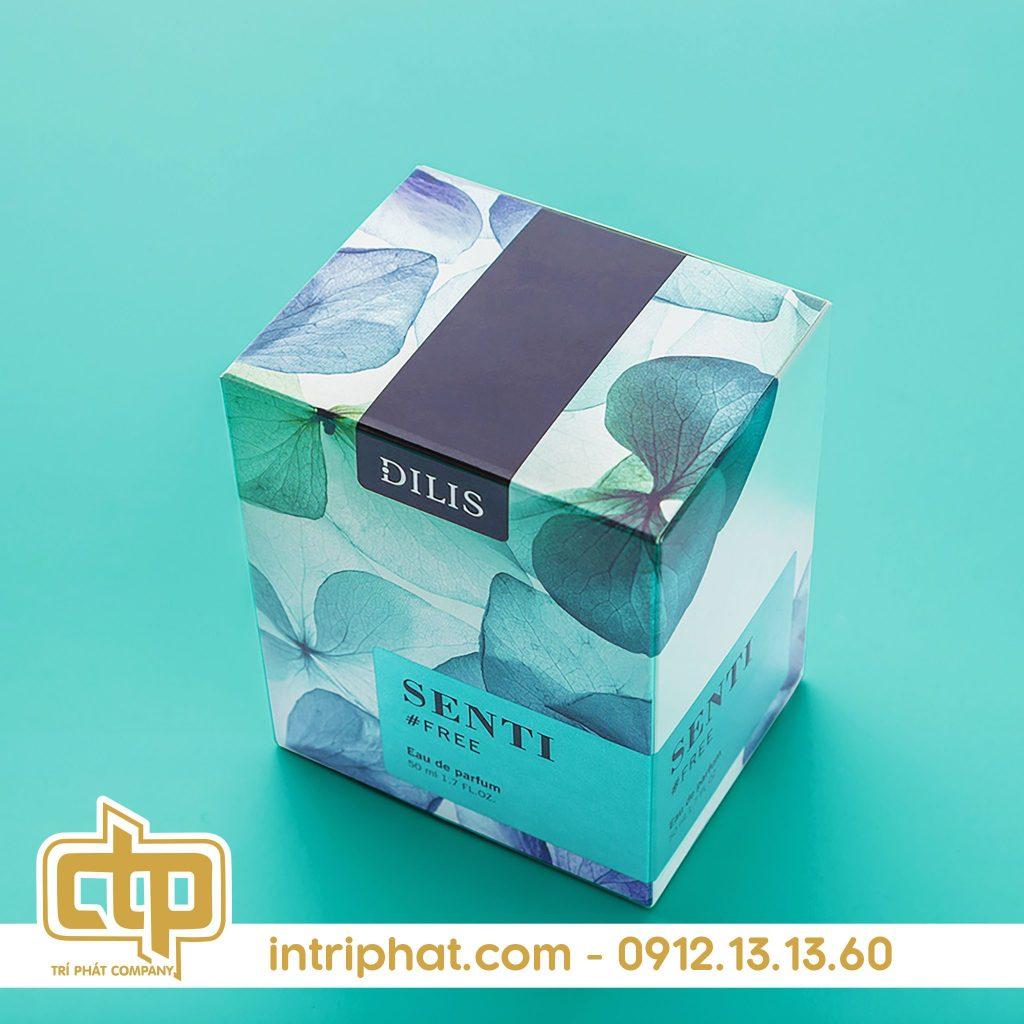 giấy in kraft hộp đựng nước hoa